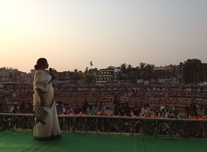 Chief Minister Mamata Banerjee addresses Sonarpur Rally 26 Apr 2014.