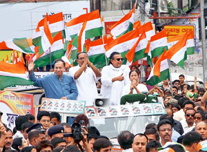 Mamata and Sugata at 10 May Rally.